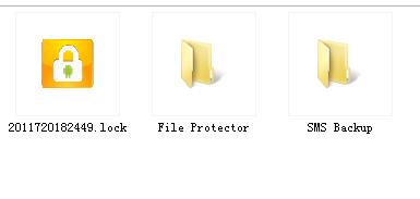 access password protected file/folder on computer