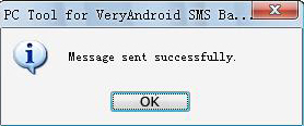 How to SMS chat on computer with PC Tool for VeryAndroid SMS Backup